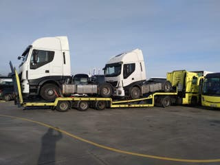 transporte de tractoras
