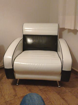 sofa estilo vintage diseño polipiel
