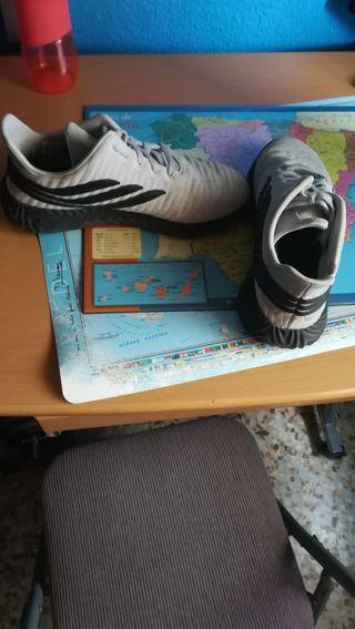 zapatillas adidas sobakov en grises