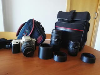Cámara analógica Nikon F50