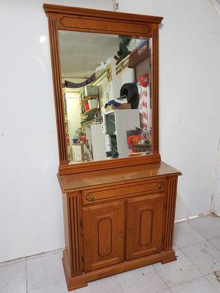 Zapateros mueble + espejo