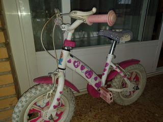 Mi primera bicicleta barbie