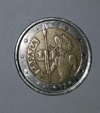 MONEDA 2€ QUIJOTE