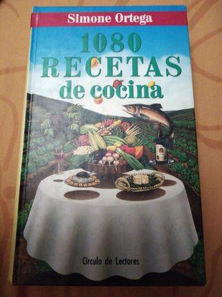 """Libro """"1080 recetas de cocina"""""""