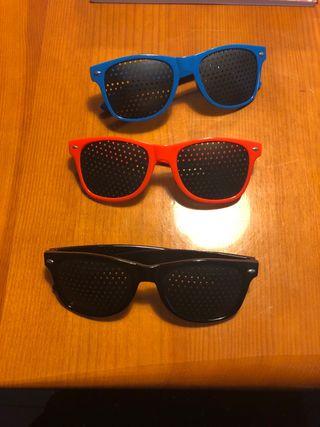 Gafas reticulares pinhole