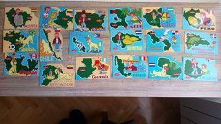 Colección tarjetas postales América