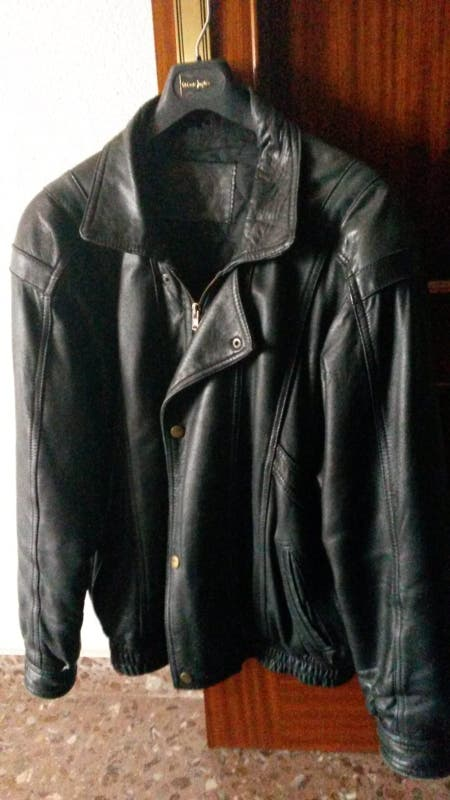Cazadora de cuero Vintage talla 50