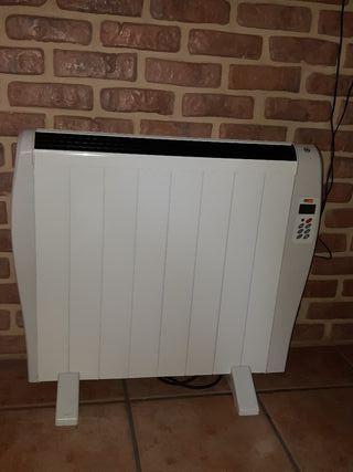 Radiador calor azul bajo consumo