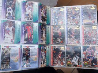 Álbum NBA upper deck completo 1993