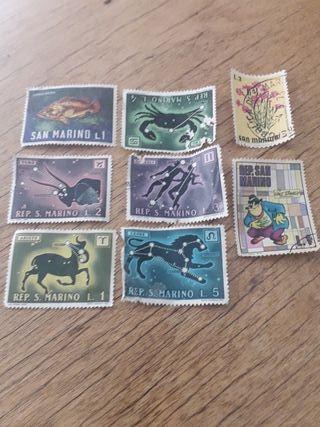 sellos de Rep.san Marino.