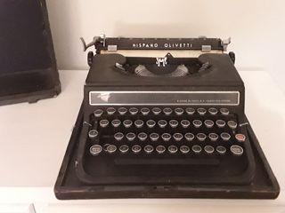 máquina escribir antigua