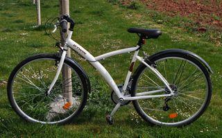 Bicicleta MONTE/CIUDAD BTWIN HYBRID ORIGINAL 300