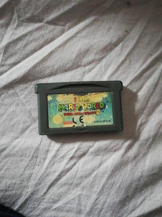 OFERTA juego super Mario World advance 2