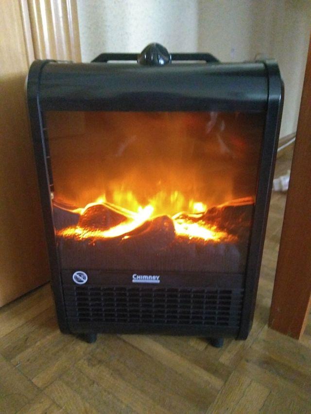 Calefactor Eléctrico Chimney