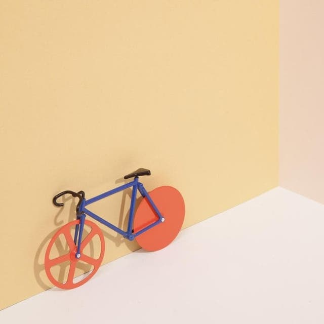 Cortapizzas bici Fixie nuevo