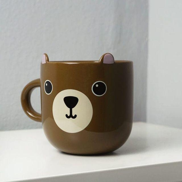 Taza kawaii oso nueva