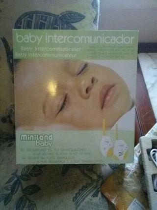 intercomunicador de bebés