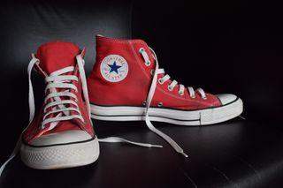 cae3bf378 Zapatillas rojas de segunda mano en Las Rozas de Madrid en WALLAPOP