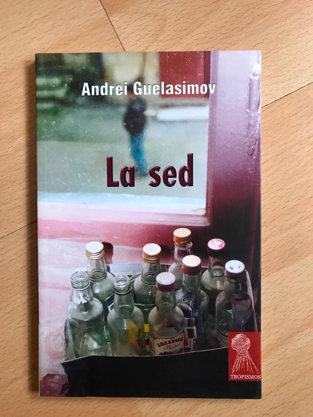 Libro: La sed - Andrei Guelasimov