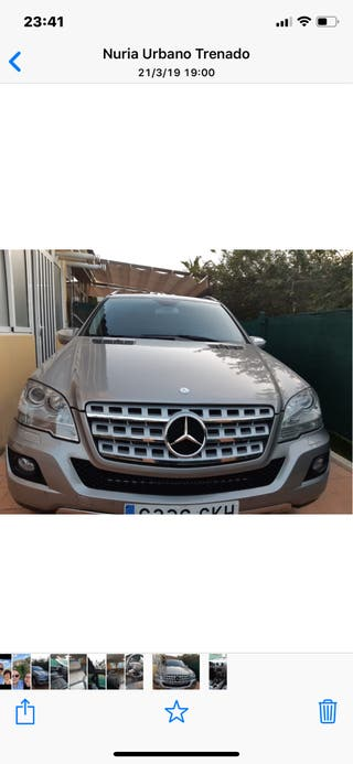 Mercedes ML 320 Cdi CUATROM 2009