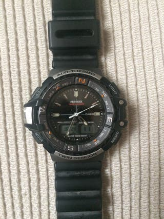 Reloj Casio Protrek por-700 Twin Sensor