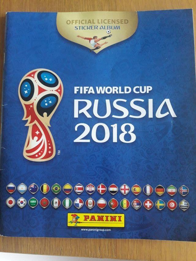 Cromos mundial de Rusia