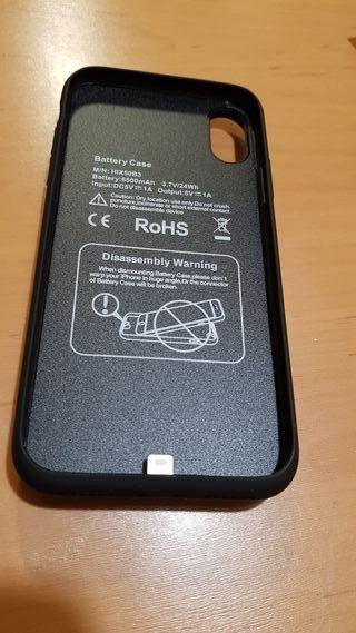 Funda batería iPhone X/XS/10 6.500 mAh Nueva