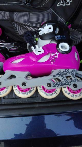 vendo patines de linea