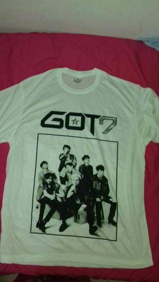 Camiseta Got7