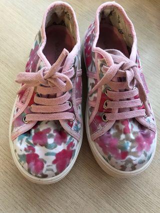 Zapatillas niña talla 29
