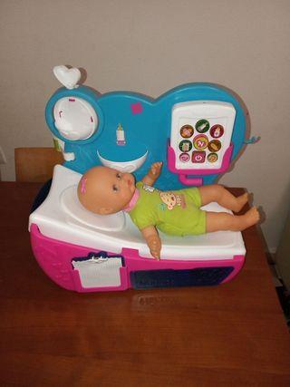 Cama Nenuco con muñeca