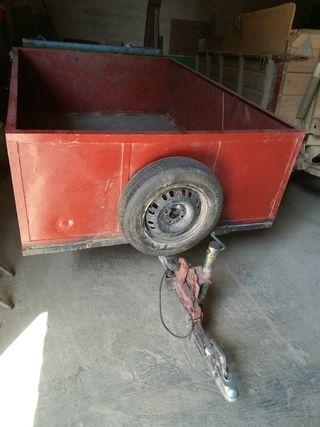 carro para coche o tractor pequeño sin papeles