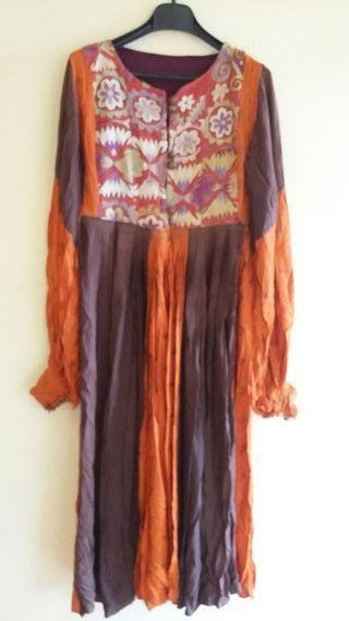 Vestido de la India años 70