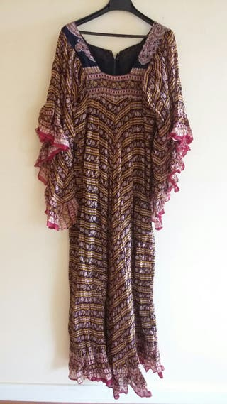 Vestido de India años 70