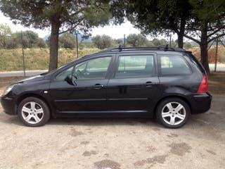 Peugeot 307 SW HDI color negro