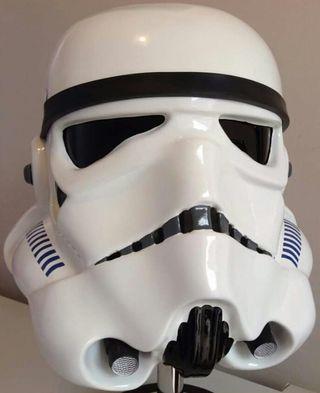 Casco Stormtrooper guerra de las galaxias
