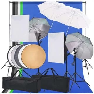 Kit de iluminación de estudio de fotografía