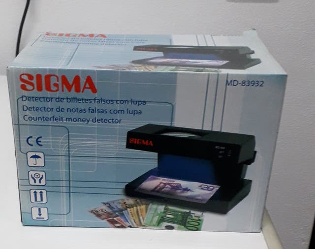 Detector billetes