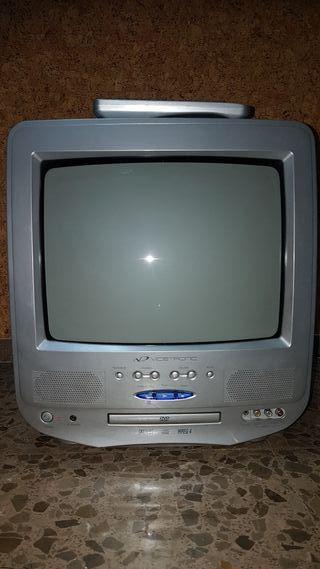 Televisor de 14' pulgadas con lector DVD y MPEG4