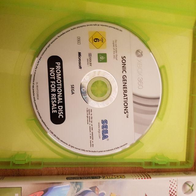 pack juegos Xbox 360 Minecraft, Sonic, Naruto