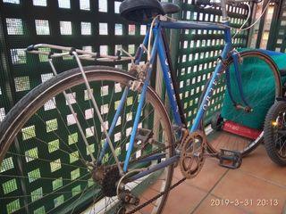 bici ciclismo antigua