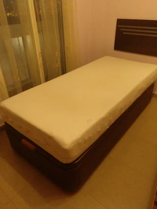 Canapé abatible individual 90X190cm