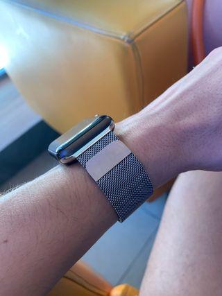 Vendo pulsera plata Apple Watch