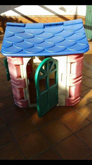 Casa infantil para jardín