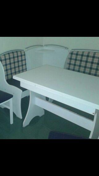 Rinconera ofice y 2 sillas