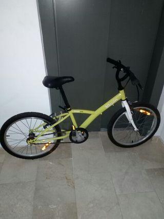 Bicicleta niños decathlon