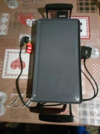 Plancha eléctrica para asar