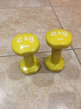 Mancuerna para ejercicio