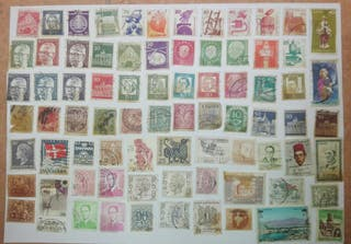 Sellos antiguos, billetes, Loterías, Filatélico