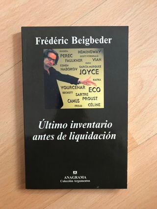 Libro: Último inventario antes de liquidación